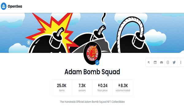 How To Buy Adam Bomb Squad NFTs