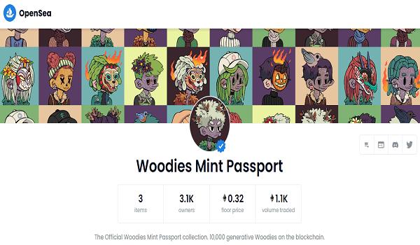 How To Buy Woodies Mint Passport NFT