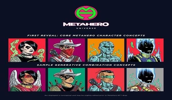 MetaHero Universe Generative Identities NFTs