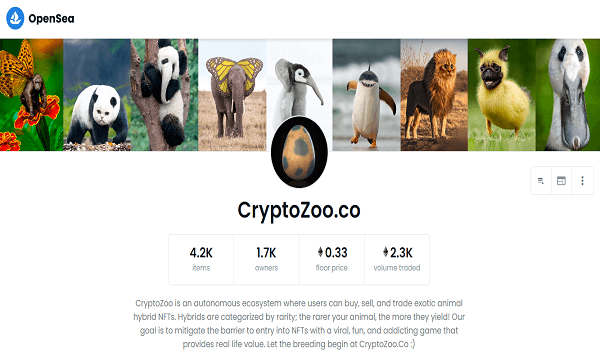 Where To Buy CryptoZoo.co NFTs