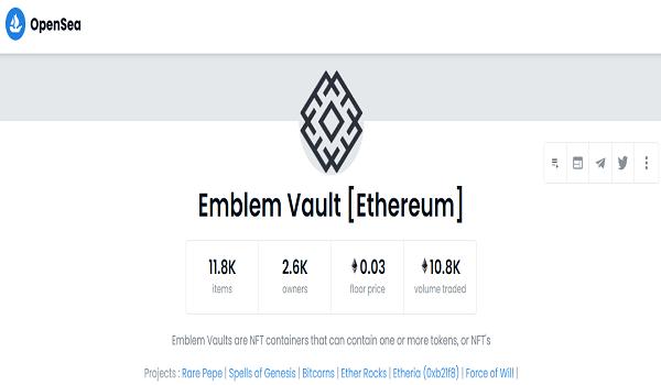 Where To Buy Emblem Vault NFTs