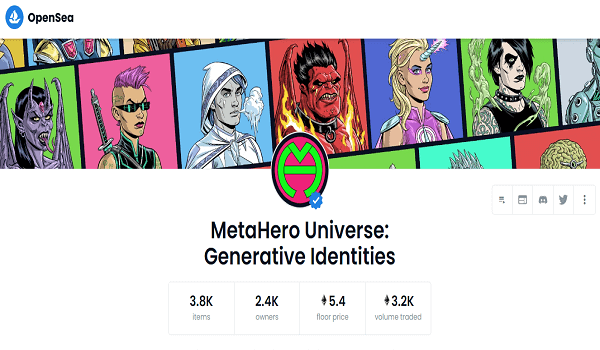 Where To Buy MetaHero Generative Identities NFTs