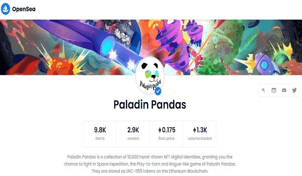 Where To Buy Paladin Pandas NFT
